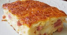 Ποιος λέει όχι σε ένα κομμάτι ζαμπονοτυρόπιτα σουφλέ στο λεπτό ;; Πολύ αφράτη και ζουμερή!!! Μια πολύ εύκολη και νόστιμη συνταγή που θα σας... Vanilla Cake, Lasagna, Quiche, Sweets, Bread, Cooking, Breakfast, Health, Ethnic Recipes
