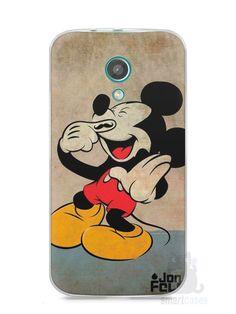 Capa Moto G2 Mickey Mouse #3 - SmartCases - Acessórios para celulares e tablets :)
