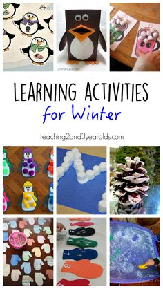 16 fun preschool learning activities for your winter theme - Teaching 2 and 3 Year Olds