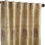 Elephant Tapestry Curtain