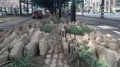 under bridge landscaping
