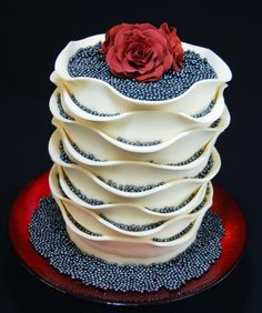 A special cake for a special Lady - Cake by Gilles Leblanc