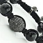 Black Diamond Disco Ball Bracelet #ItsHotdotcom