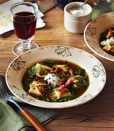 Russia's answer to tortellini are these little dumpling-like parcels, packed with hearty flavour. This recipe uses a winning combination of veal, celeriac and chives.