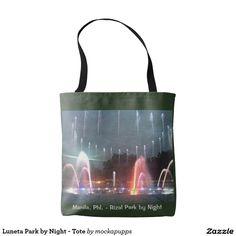 Luneta Park by Night - Tote