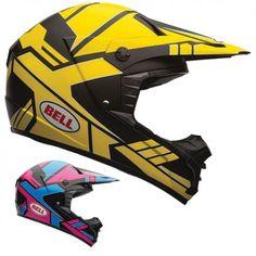 Bell Powersports SX-1 Stack Off Road Motocross Dirt Bike MX Helmets