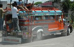 Mindanao, overcrowded jeepney ©Image by Ronald de Jong, all rights reserved. philippineimpressions@gmail.com