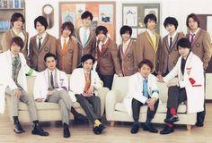 Arashi and Hey! Say! Jump | Waku Waku Gakkou