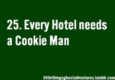The Little Things About Ghost Adventures I wouldn't mind being woke up at 2 in the morning to them giving me cookies.. not at all