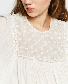 FULL EMBROIDERED TOP