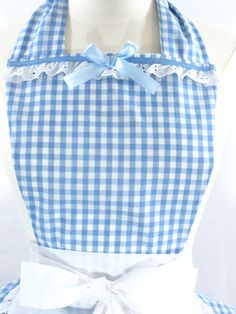 Wizard+of+Oz+Dorothy+Costume+Apron+by+FlirtyandFunAprons+on+Etsy,+$60.00