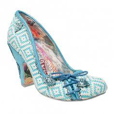 8a93500f8ef3 Irregular Choice FLEXI LEXI Blue Ladies Shoes ... (8)  Amazon.co.uk  Shoes    Bags
