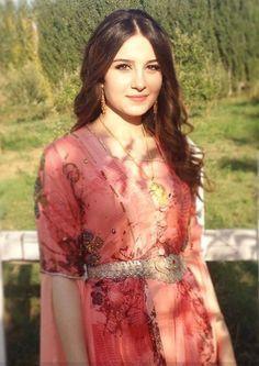 Kurdish beauty in traditional costume.