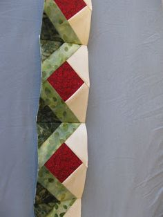This is a very cute border idea. I am amazed at the new and clever ... : borders for quilts - Adamdwight.com