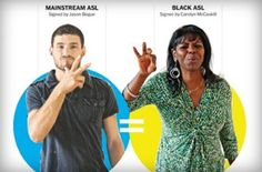 Some differences between Black ASL and ASL used by white signers: