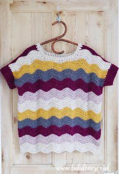 Lululoves: Crochet Betty Sweater