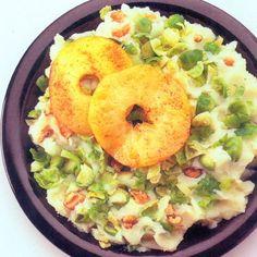 Spruitjes stamppot met appel en kerrie - recept - okoko recepten