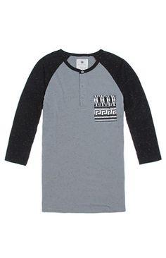 On The Byas Jared Colorblock Baseball T-Shirt #pacsun