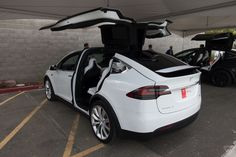 Tesla's Model X is finally here, and I got to drive it | The Verge