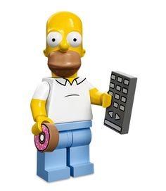 Lego Minifigures Simpsons Serie 1: Homer Simpson