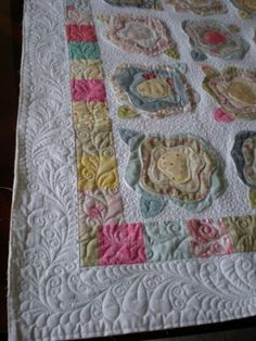Wonderful machine quilting