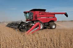 case ih | ... Case IH combine, these are the suggested settings for your machine