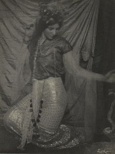Frank Eugene (1865-1936)  Snake Charmer