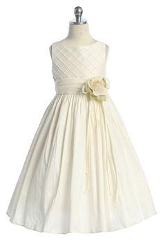 long ivory flower girl dresses | wedding/wedding/sleeveless_a_line_ivory_cute_flower_girl_dress.jpg