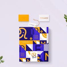 Branding & Web Design on Behance Shape Design, Pattern Design, Web Design, Identity Design, Visual Identity, Brand Identity, Airport Design, Event Branding, Poster Layout