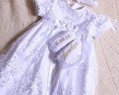 Christening and special occasion outfit for your baby! Boy Christening Outfit, Baptism Gown, Special Occasion Outfits, Kids Fashion, Gowns, Trending Outfits, Stuff To Buy, Etsy, Children
