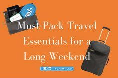 Must-Pack Essentials for Your Next Long Weekend Trip | Stayful Blog