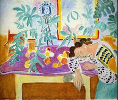 "salantami: "" Henri Matisse "" Nature morte avec Femme endormie "" 1939 -1940 """
