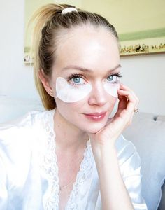Lindsay Ellingson shares her beauty tips for brides