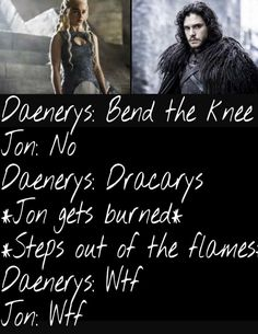 I wish that was true. It it's not because Jon's hand did get burnt when he threw the lit fire lamp at the white walker whilst defending Lord Commander, Jeor Mormont.