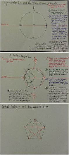 How to draw a quadrangle beginner mandala and the perfect square how to draw a perfect pentagon or five pointed star ccuart Image collections