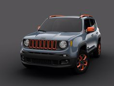 Jeep Renegade.I love the colors!