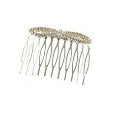 Finesse Silver Diamante Hair Comb