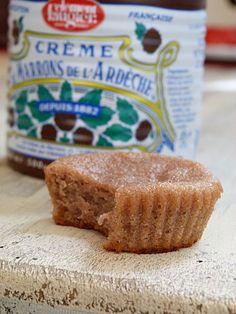 mini moelleux à la crème de marron