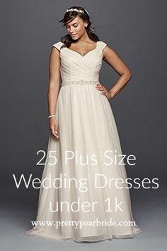 plus size wedding dress, plus size bridal gowns,