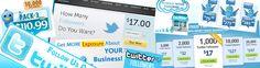 Nu.nl meldt vandaag dat er tussen de 40 en 360 miljoen Euro betaald wordt voor 'nep volgers' . Speciale 'bedrijven' maken en beheren duizenden tot honderdduizenden nep accounts op Social media kanalen als Facebook en Twitter. Voor $18-, koop je 1000 nieuwe nep-volgers/ likes op je (zakelijke) Twitter account.