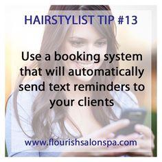 Hairstylist Tip #13