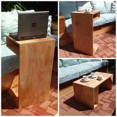 DIY 3-In-1 Multi-Purpose Table
