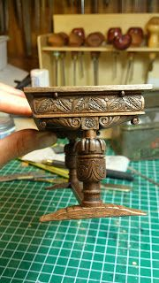 made by Debora of petit Look at the carving and the construction!! a masterpiece!