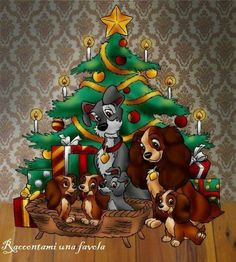 Christmas - Disney - Lady And The Tramp