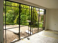 Steel Windows, Steel Doors, Windows And Doors, Santa Monica, Ramen, Outdoor Gardens, Lounge, The Originals, Glass