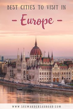 Here's a complete list about the most beautiful cities in Europe that you should put on your Europe bucket list right away. | Best Cities in Europe | Prettiest Places in Europe | Europe City Breaks | Weekend Getaways in Europe | Best European Cities to Visit | Europe Travel | Places to Travel in Europe | Europe Travel Destinations | Europe Travel Tips | Most Beautiful European Cities | Europe Landmarks | What to See in Europe | Bucket List Cities in Europe | Europe vacation ideas | Europe…