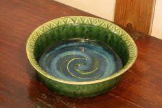 織部押文鉢 Bowl,Oribe type 2014 Pie Dish, Serving Bowls, Ceramics, Dishes, Tableware, Ceramica, Pottery, Dinnerware, Ceramic Art
