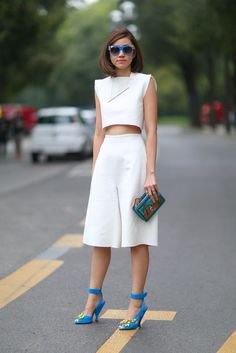 Summer Street Style Inspiration | POPSUGAR Fashion