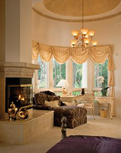 Custom Home: Master Bedroom Sitting Area