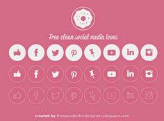 FREEBIE VECTOR SOCIAL ICONS DOWNLOAD FOR FREE HERE: http://freegoodiesfordesigners.blogspot.se/2014/07/free-vector-social-media-clean-icons.html   #freebie #freebies #icons #freeicons #social #socialmedia #pinterest #pin #facebookicon #likeicon #like #facebook #pinicon #instagramicon #twittericon #twitterbird #bird #linkedinicon #linkedin #youtubeicon #clothes #mockup #freemockup #color #white #black #free #template #freetemplate #photoshop #freepsd #psd